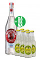Rooster Rojo Blanco 100% Agave