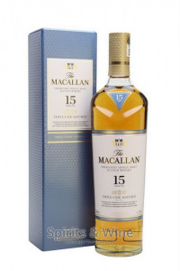 The Macallan 15YO Triple Cask Matured