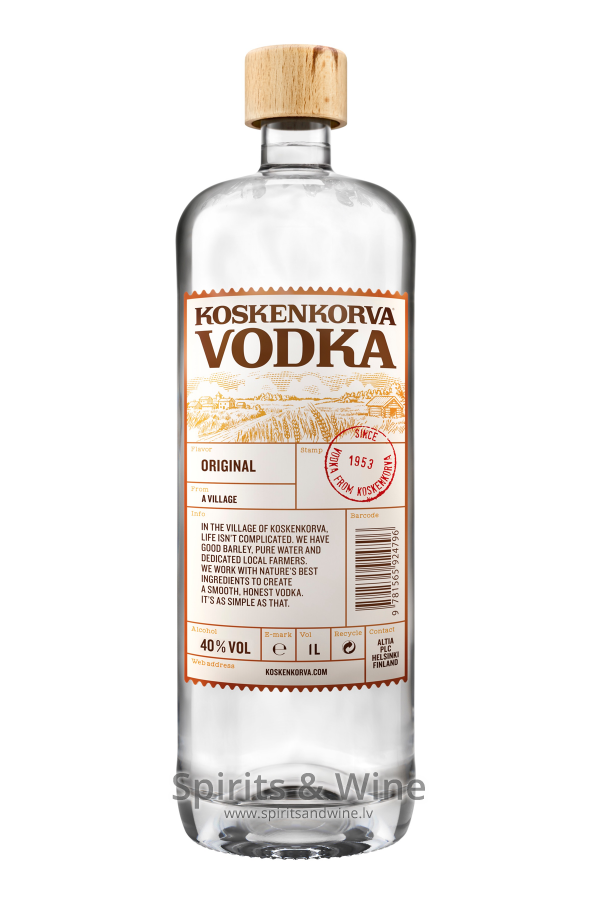 Koskenkorva - Vodka - Spirits & Wine