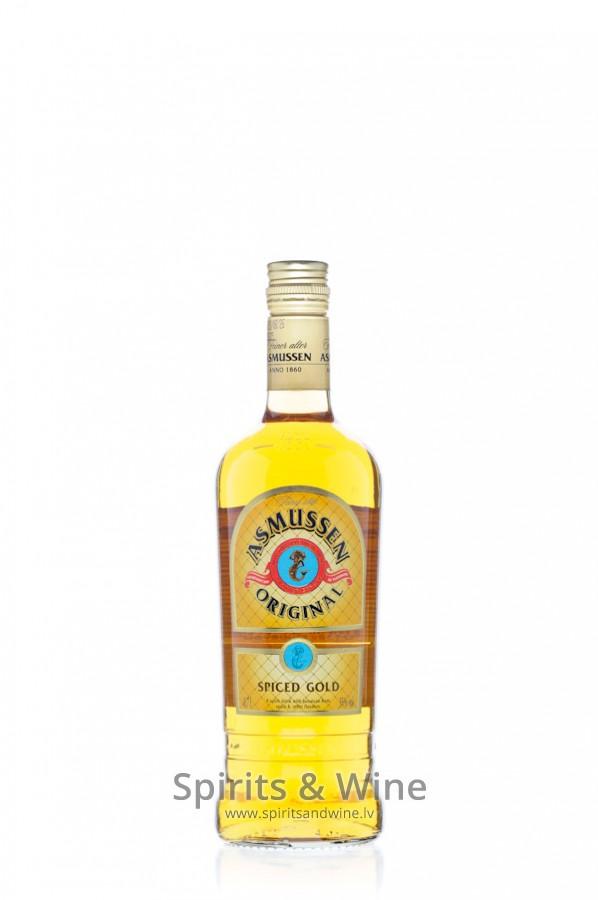Asmussen Original Spiced Gold - Rum - Spirits & Wine