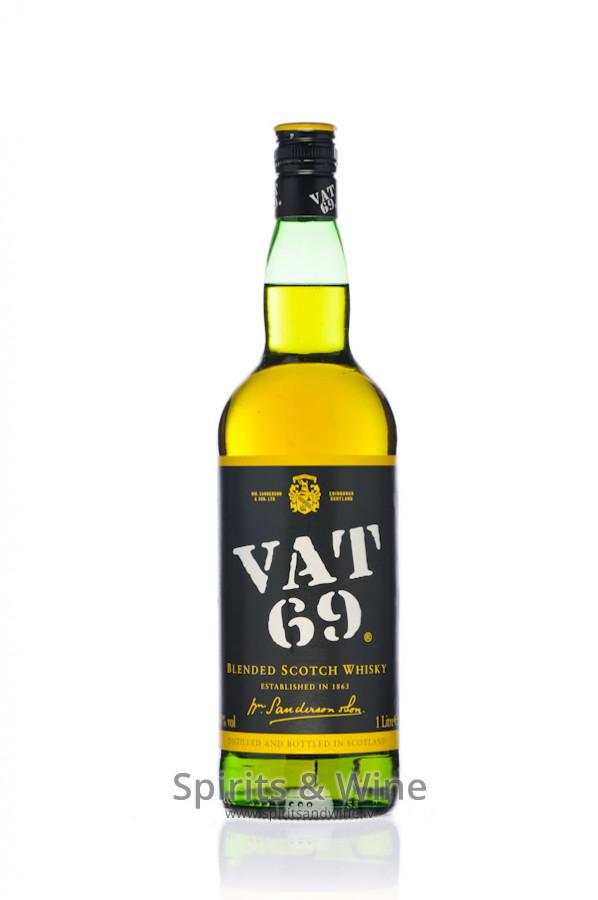 how to drink vat 69