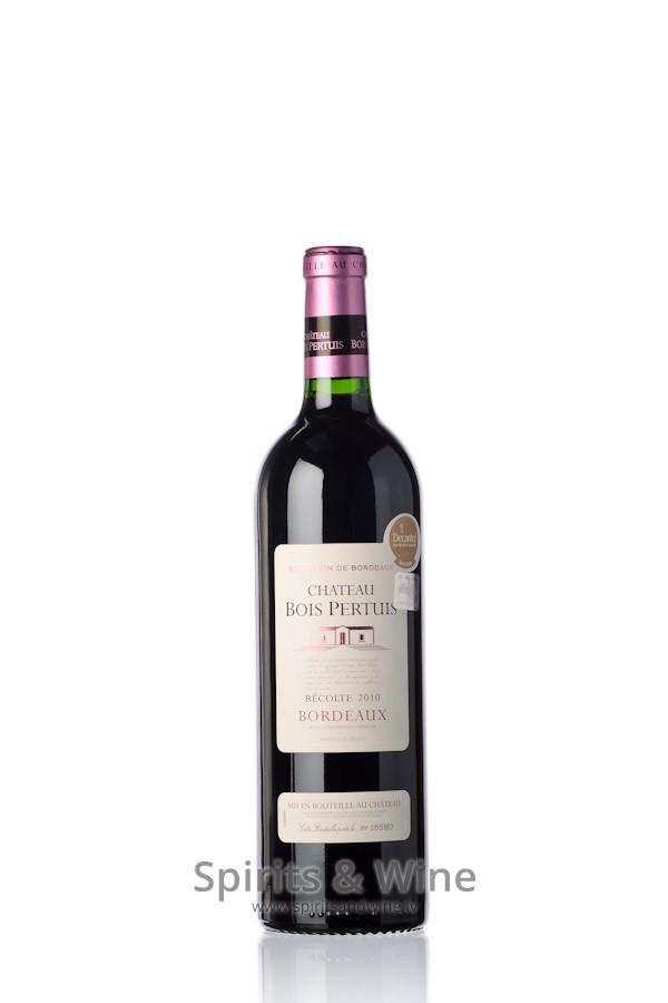 Chateau Bois Pertuis - Chateau Bois Pertuis Bordeaux Red wine Spirits& Wine