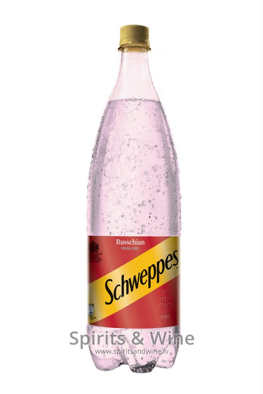 Schweppes russchian non alcoholic drinks spirits wine for Mix drinks with wine