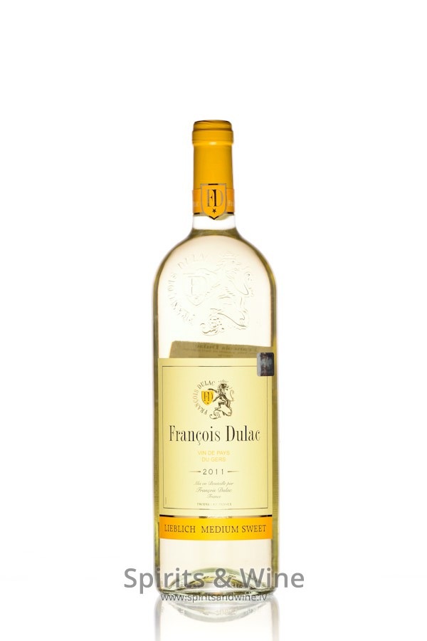 Francois Dulac Medium Sweet White Wine Spirits Wine