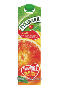 TYMBARK sarkano apelsīnu