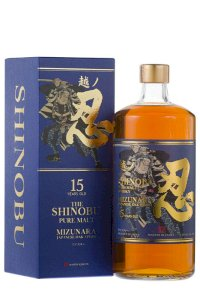 Shinobu 15YO Pure Malt Whisky Mizunara Oak Finish