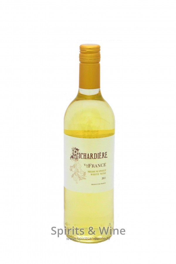 Richardiere Medium Sweet Blanc White Wine Spirits Wine