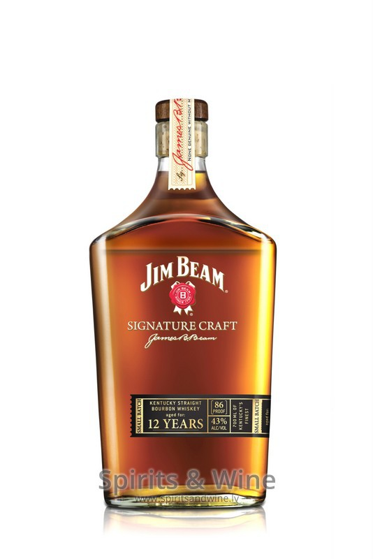jim beam signature craft 12yo whiskey spirits wine On jim beam signature craft for sale