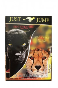 Just Jump Semi Sweet Red & White