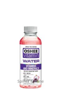Vitaminūdens Oshee Vitamins+Minerals Vīnogas/pūķa auglis
