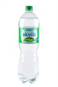 Dabīgs minerālūdens Akvile viegli gāzēts